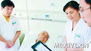 高效 厦门第一医院医生配备iPad查房