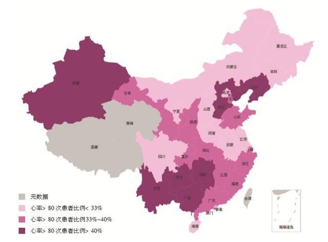 中国高血压患者心率地图首次发布_高血压_心