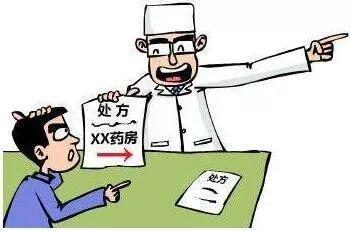 医生让患者到院外指定药房买药,卫计委责令处罚